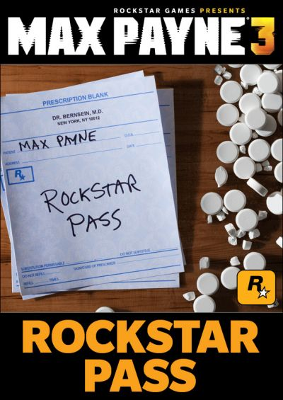 Max Payne 3 Rockstar Pass STEAM