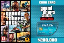 GTA V + GTA Online: Tiger Shark Cash Card