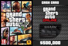 GTA V + GTA Online: Bull Shark Cash Card