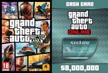 GTA V + GTA Online: Megalodon Shark Cash Card (Global)