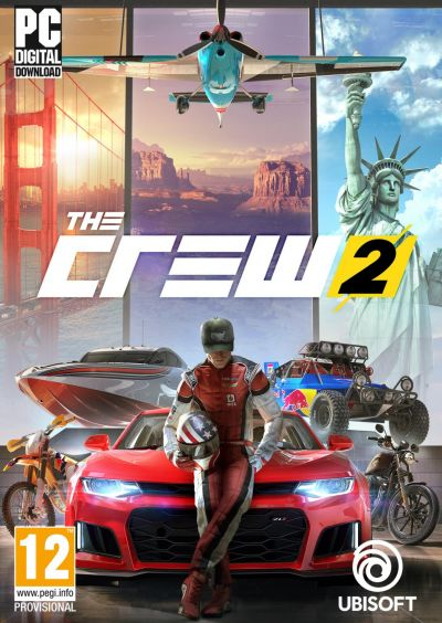 buy the crew 2 standard edition uplay key instant. Black Bedroom Furniture Sets. Home Design Ideas