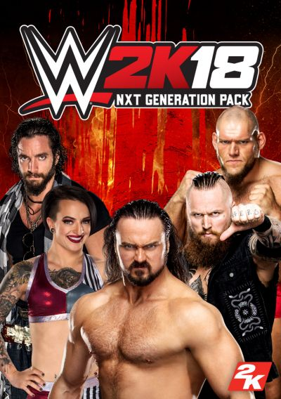 WWE 2K18 -  NXT Generation Pack