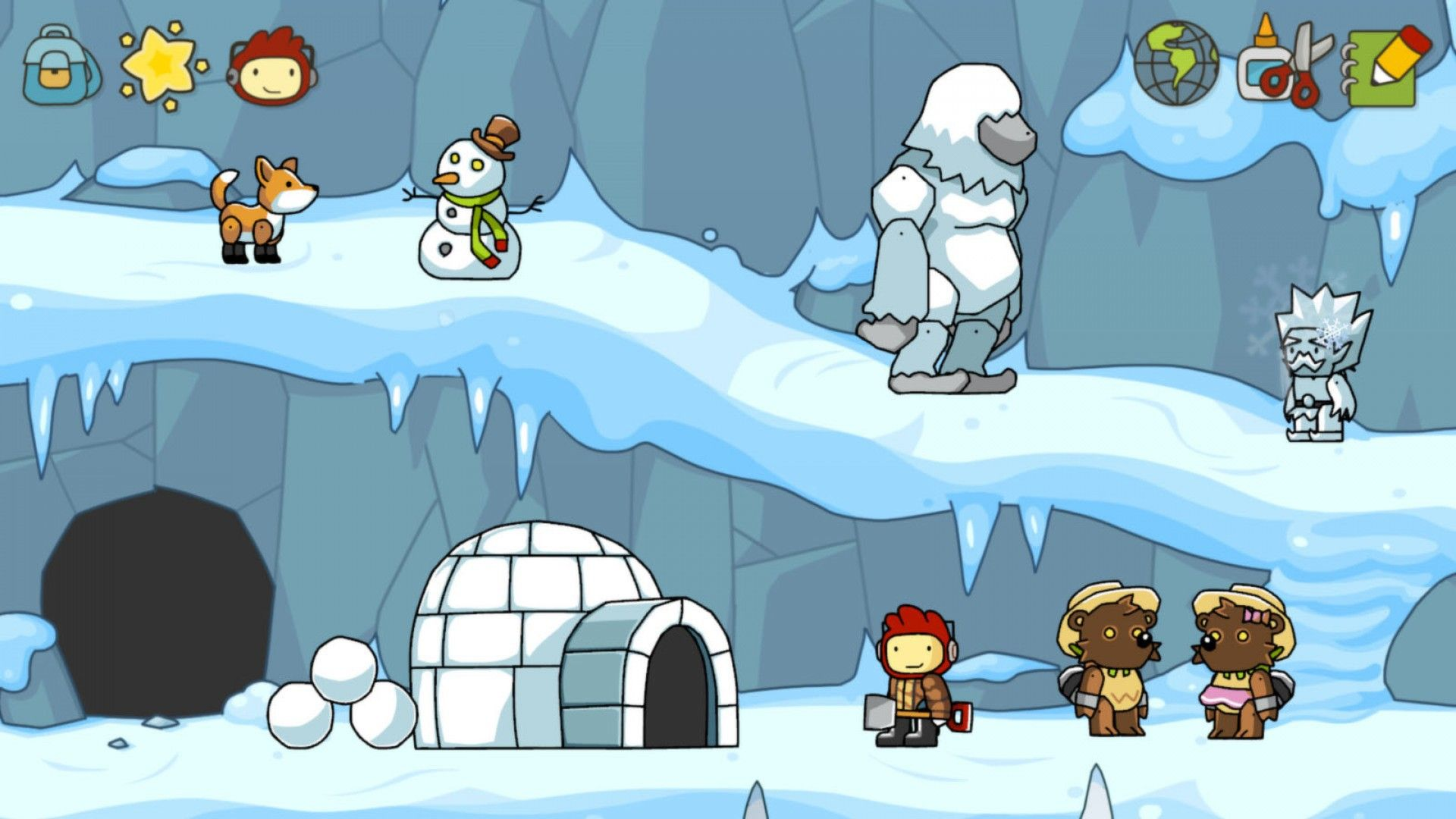 how to get steam workshop items scribblenauts