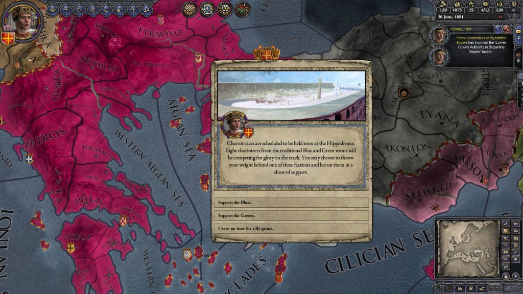 Crusader Kings II: Legacy of Rome (DLC)