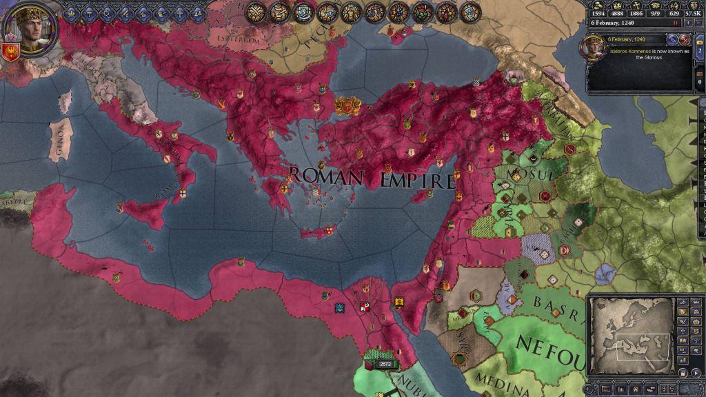 Buy Crusader Kings II: Legacy of Rome (DLC) Steam Key | Instant