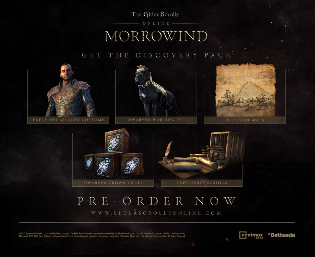 Buy The Elder Scrolls Online - Morrowind Standard Edition Zenimax