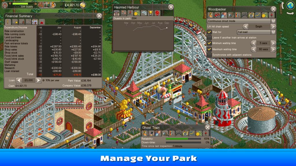 Buy RollerCoaster Tycoon® Classic Steam Key | Instant