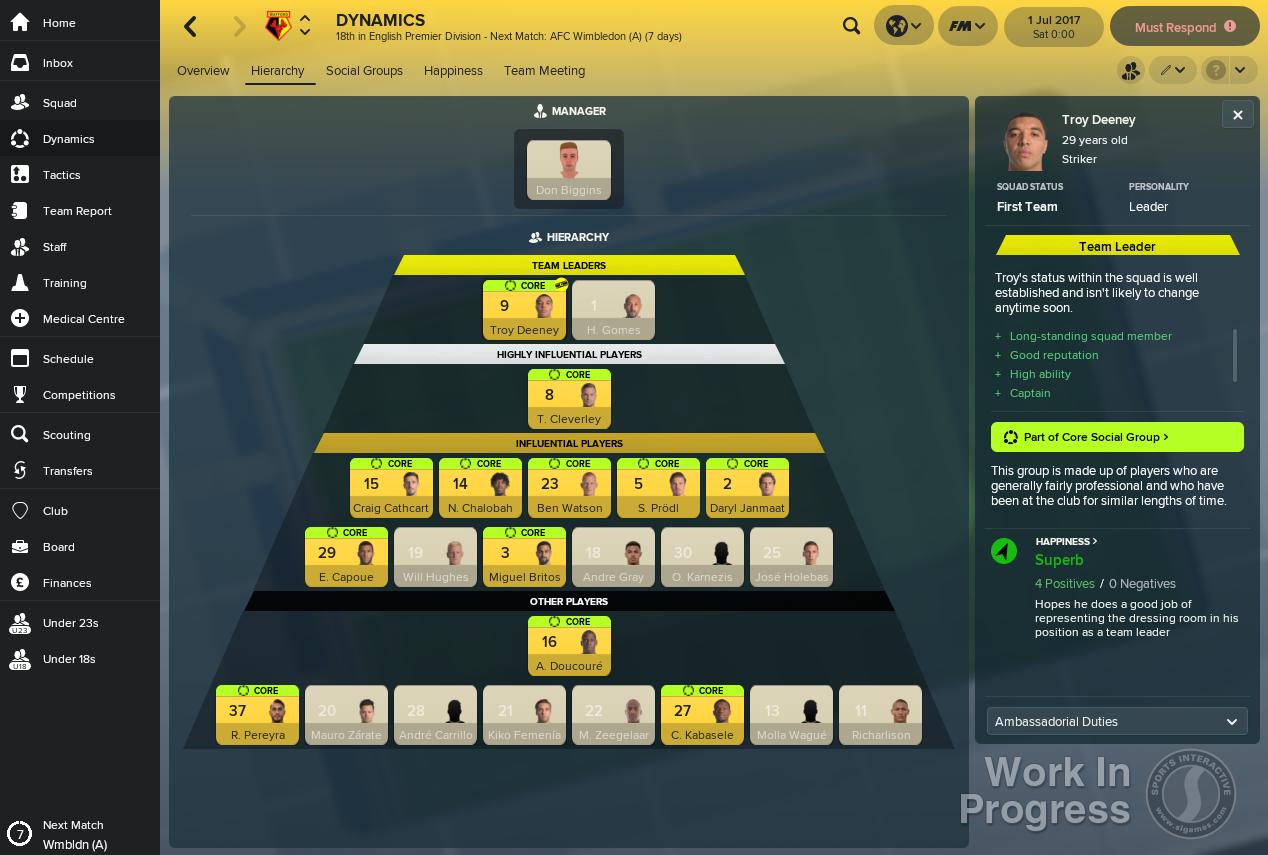 football manager 19 key