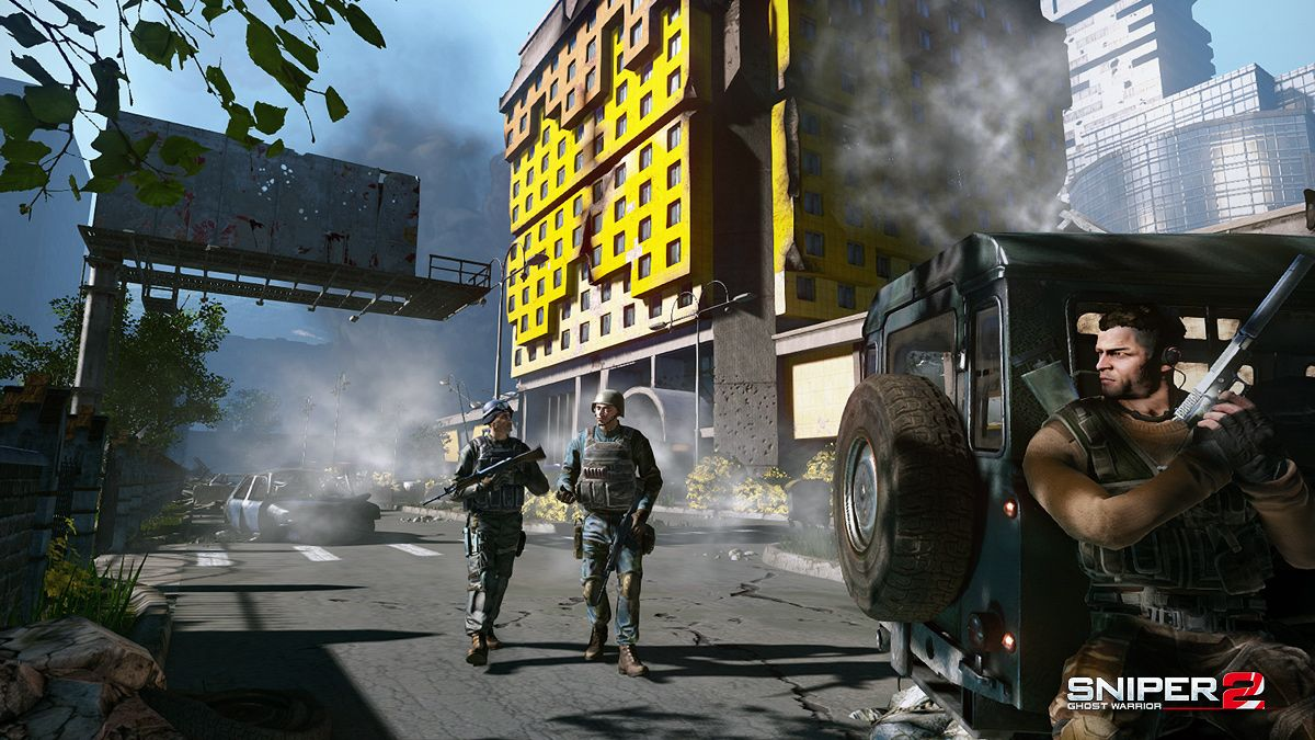 Sniper Ghost Warrior - PC download torrent