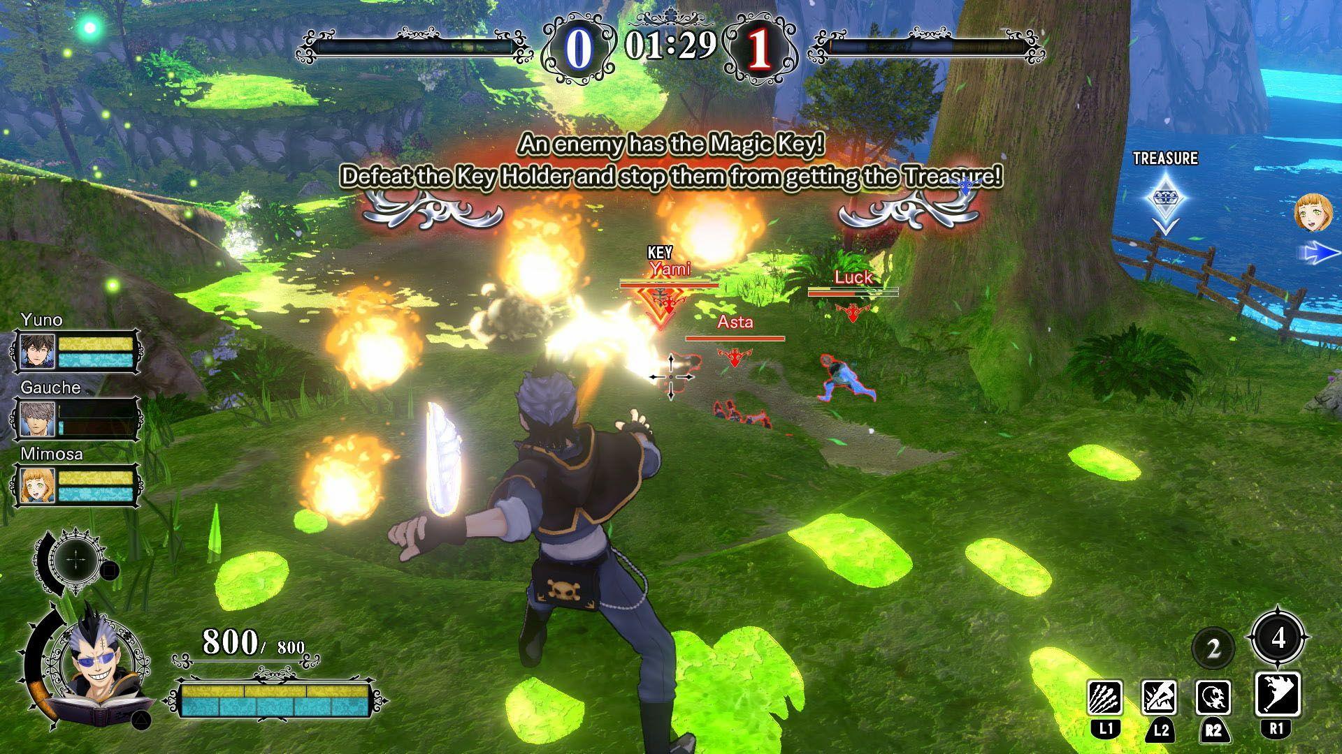 Black Clover Quartet Knights Free Download